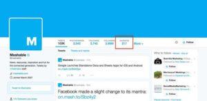 Twitter redesign Favorites tab