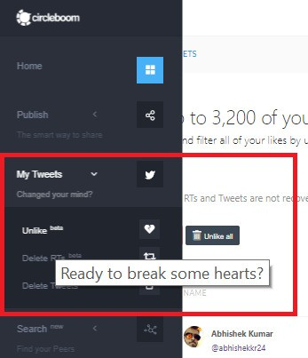 How to delete likes on Twitter from a year ago - Vip-tweet